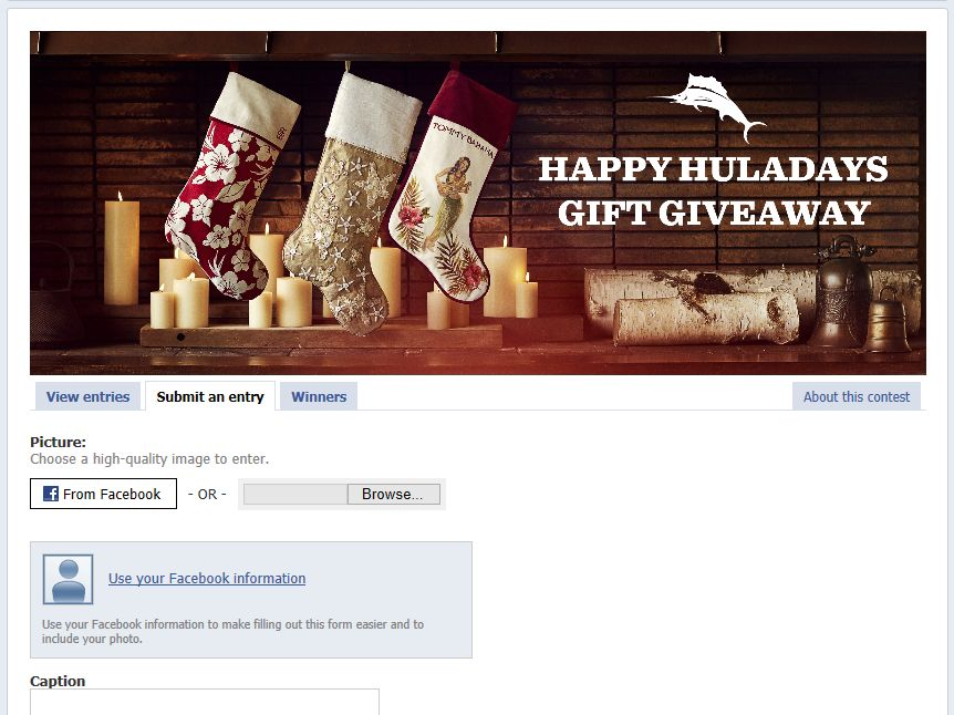 Tommy Bahamas Happy Huladays Gift Giveaway