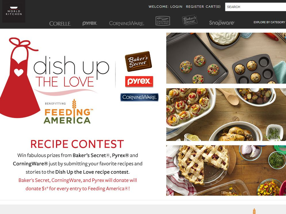 World Kitchen Dish Up the Love Sweepstakes