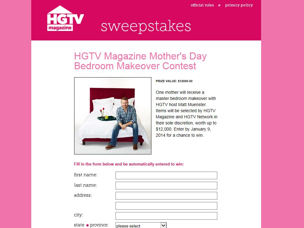 bedroom makeover contest hgtv s day bedroom makeover contest 10555