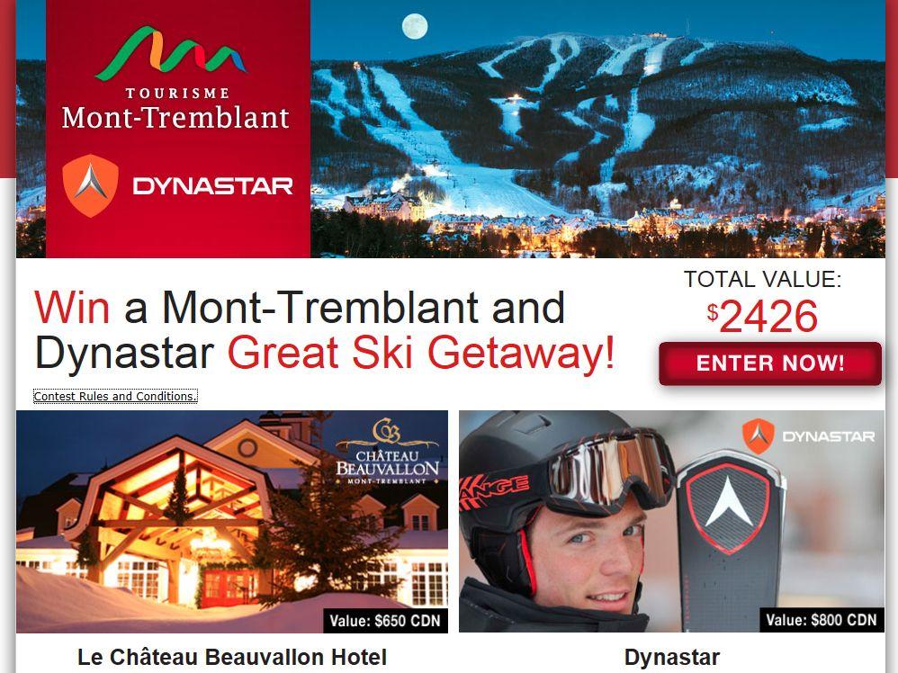 Mont-Tremblant and Dynastar Great Ski Getaway