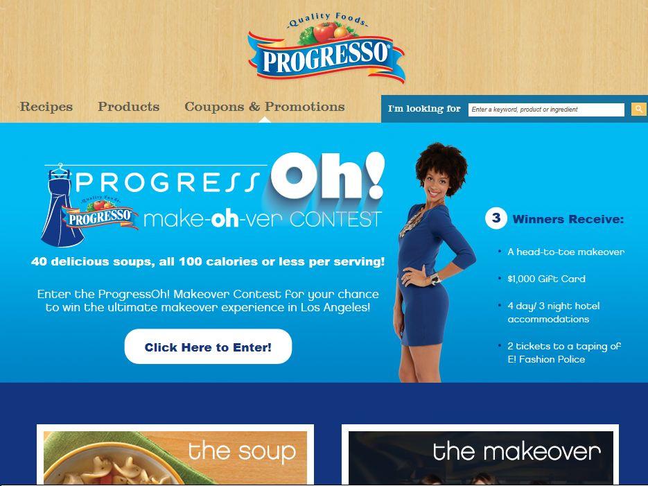 ProgressOh! Makeover Contest