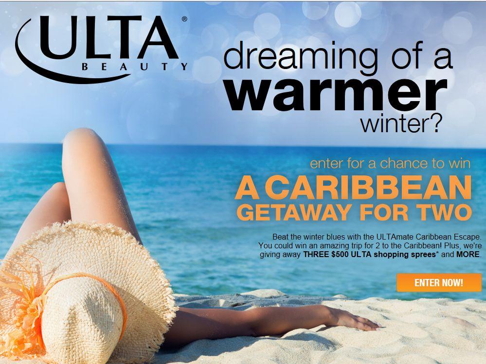 ULTAmate Caribbean Escape Sweepstakes