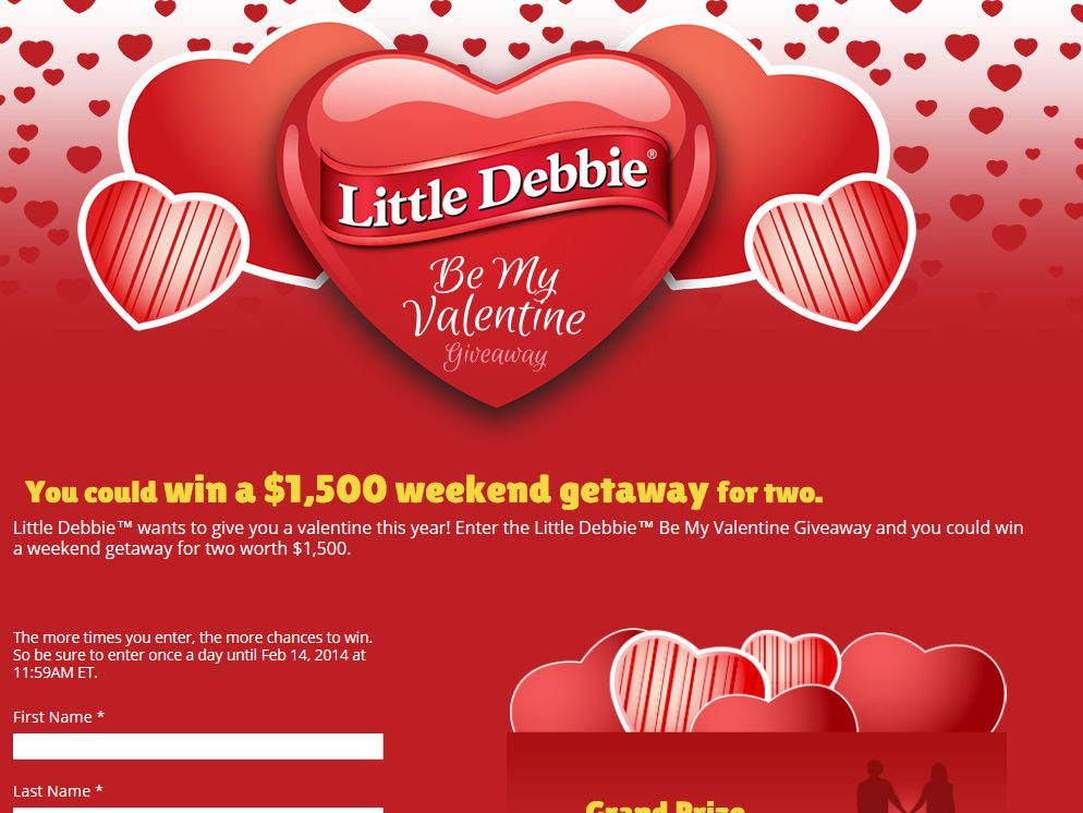 "Little Debbie ""Be My Valentine"" Giveaway"