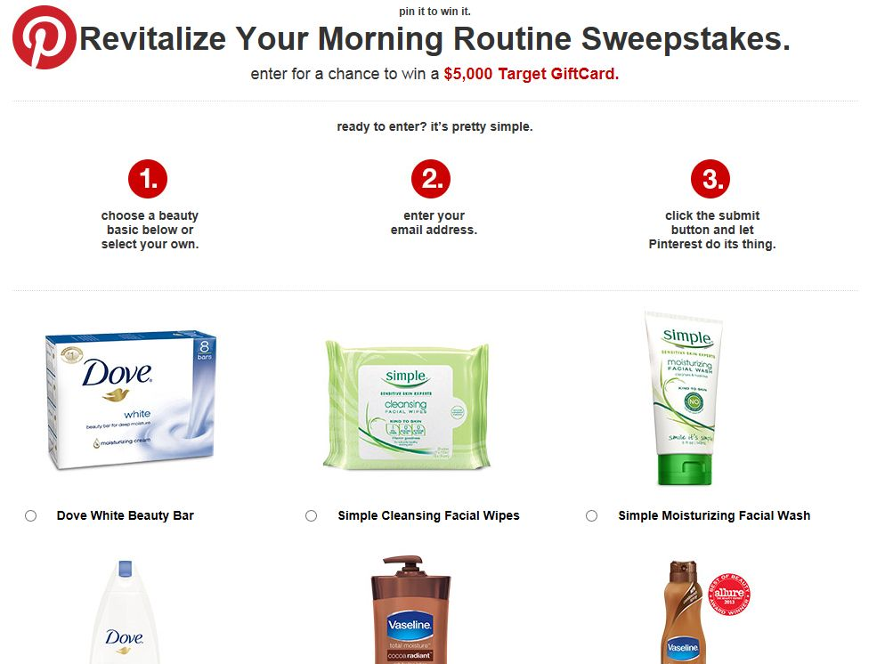 Revitalize Your Morning Routine Sweepstakes