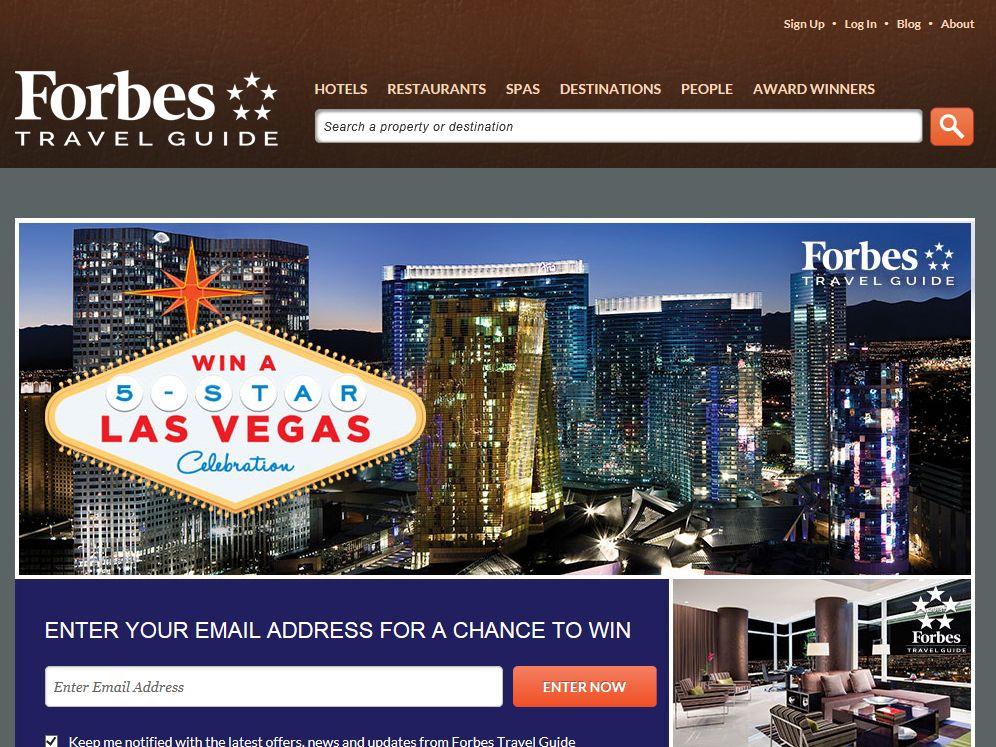 Forbes Win a Five-Star Vegas Celebration