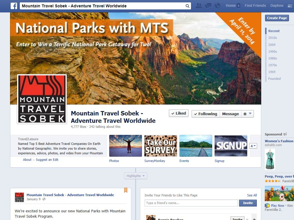 Mountain Travel Sobek – Adventure Travel Worldwide Sweepstakes