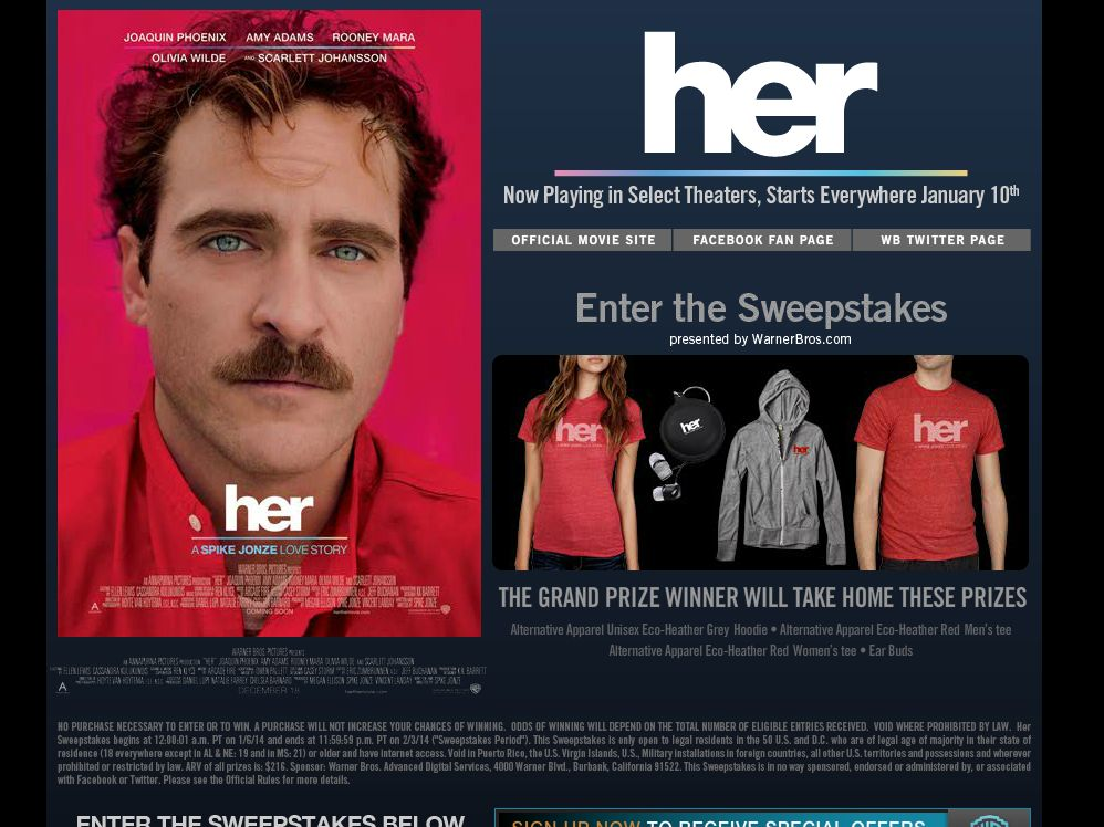 HER Sweepstakes