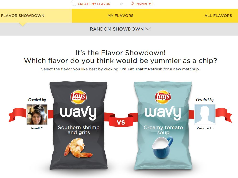 LAY'S Do Us A Flavor Choose Your Chip Contest