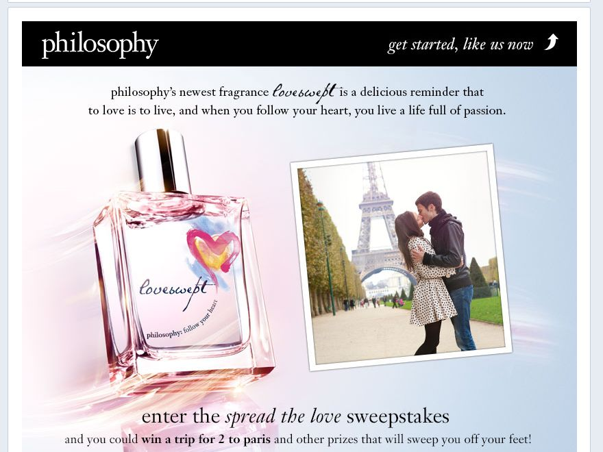Philosophy Spread The Love Sweepstakes