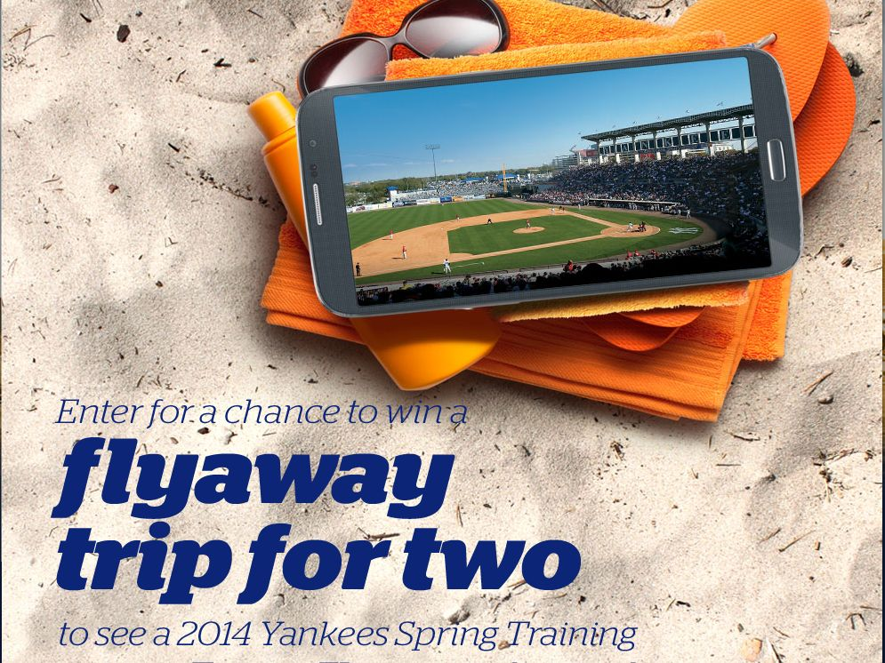 Yankees Flyaway to Florida Sweepstakes – Select States