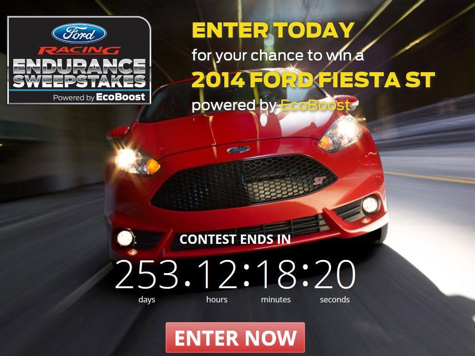 Ford Racing Endurance Sweepstakes