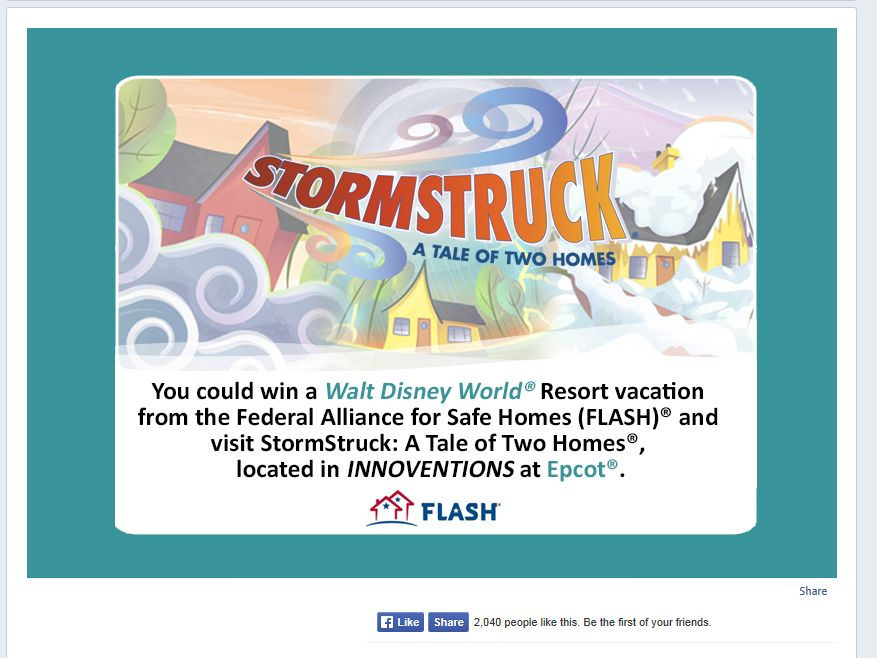 Federal Alliance for Safe Homes StormStruck Sweepstakes