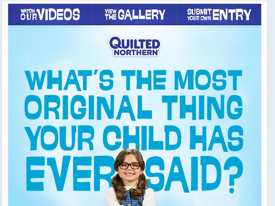 Quilted Northern Original Thoughts Sweepstakes