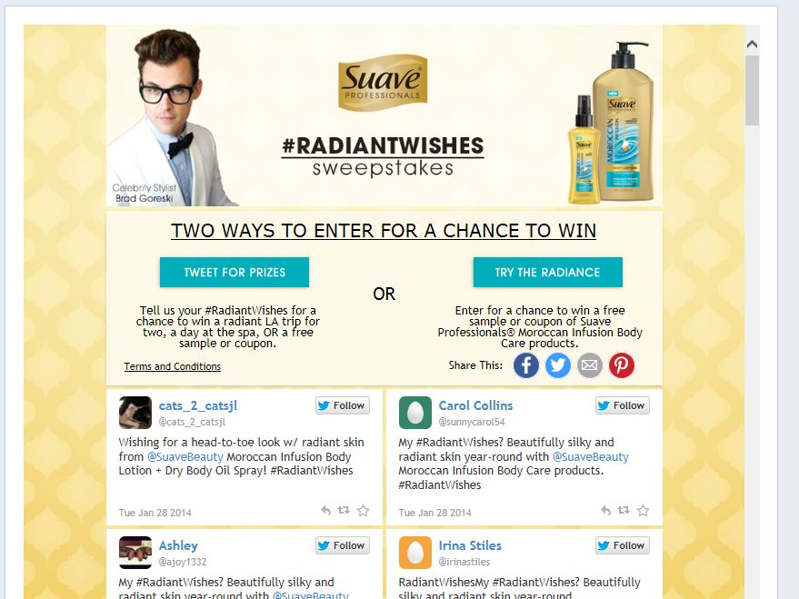 Suave Professionals Moroccan Infusion Body Care #RadiantWishes Sweepstakes