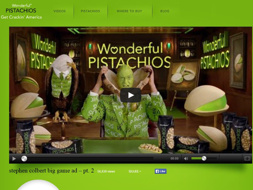"""Wonderful Pistachios """"Count Our Nuts"""" Sweepstakes"""