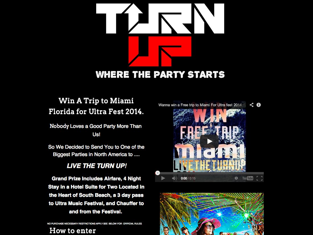 Win a Trip to Miami for Ultra Fest 2014