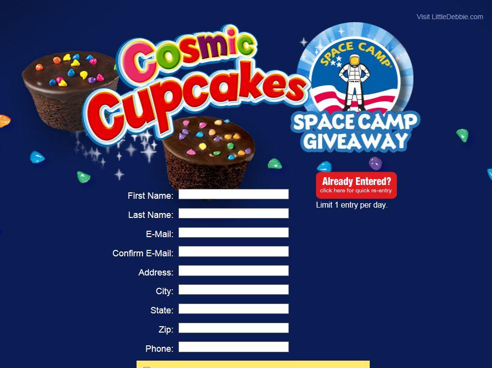 "Little Debbie ""Cosmic Cupcake Launch"" Giveaway"