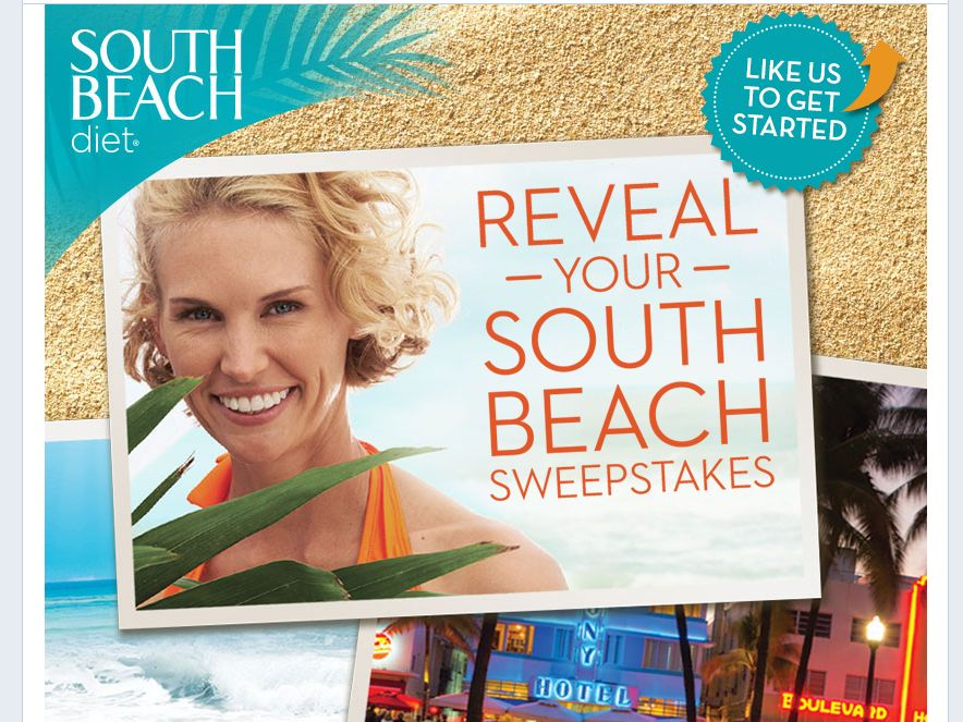Reveal Your South Beach Sweepstakes