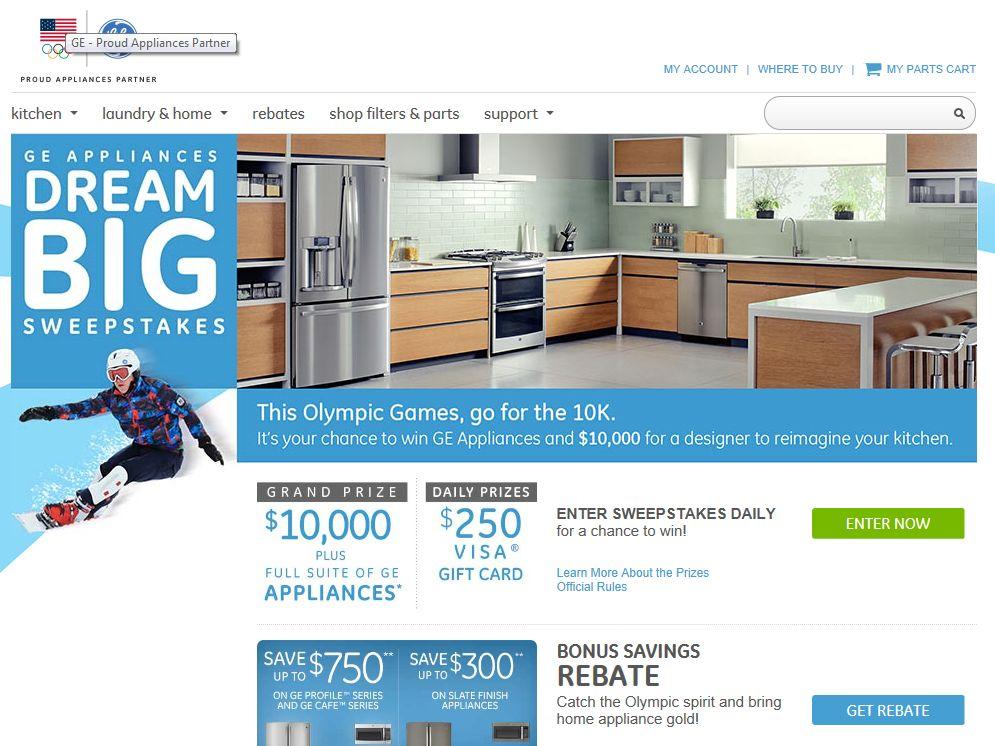 GE Dream Big Sweepstakes