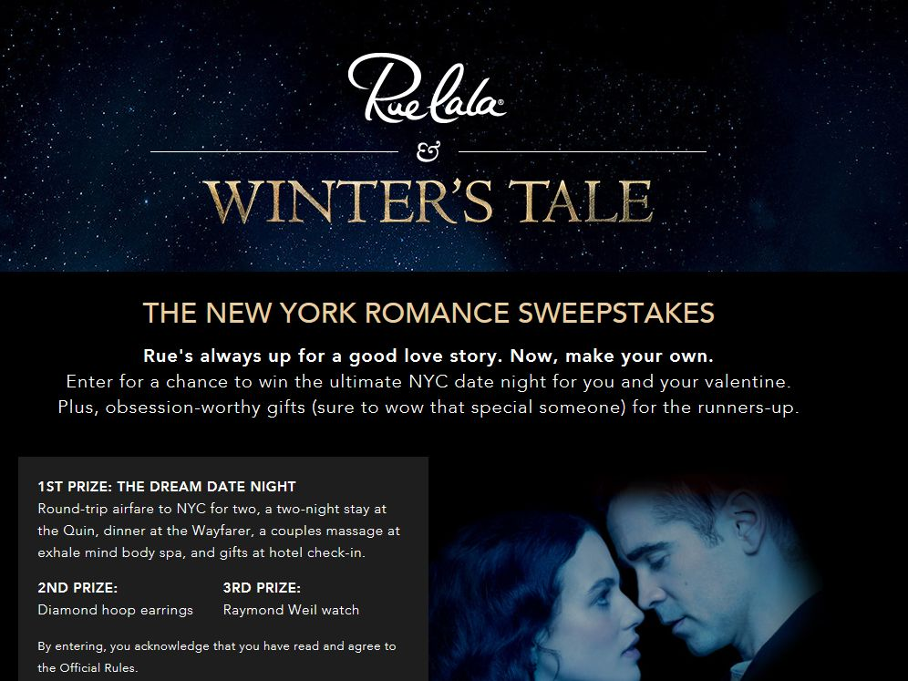 The New York Romance Sweepstakes