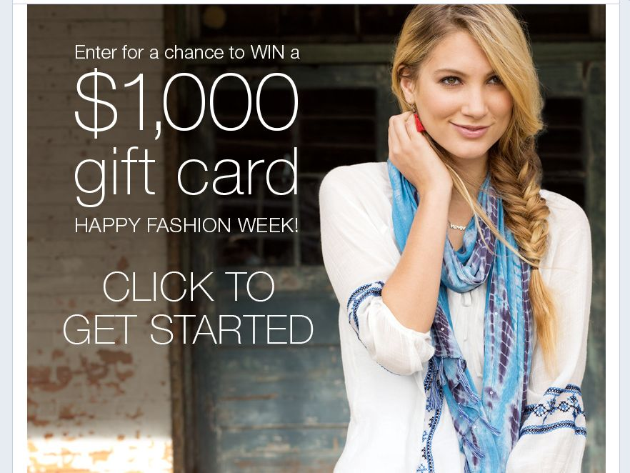 maurices Fashion Week Sweepstakes