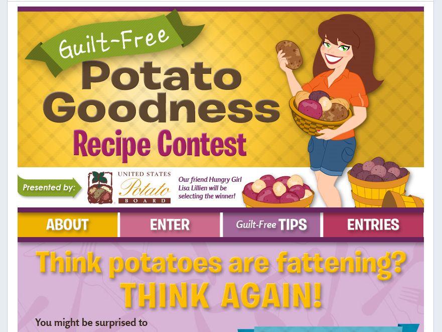 Guilt-Free Potato Goodness Recipe Contest