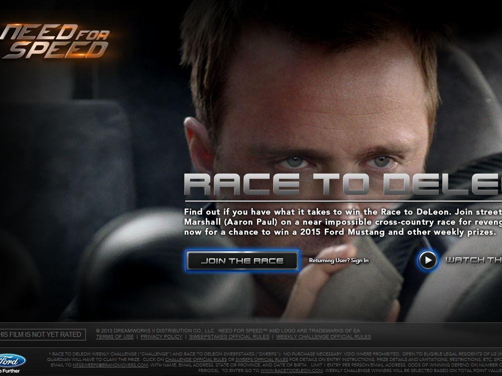 Race To DeLeon Sweepstakes