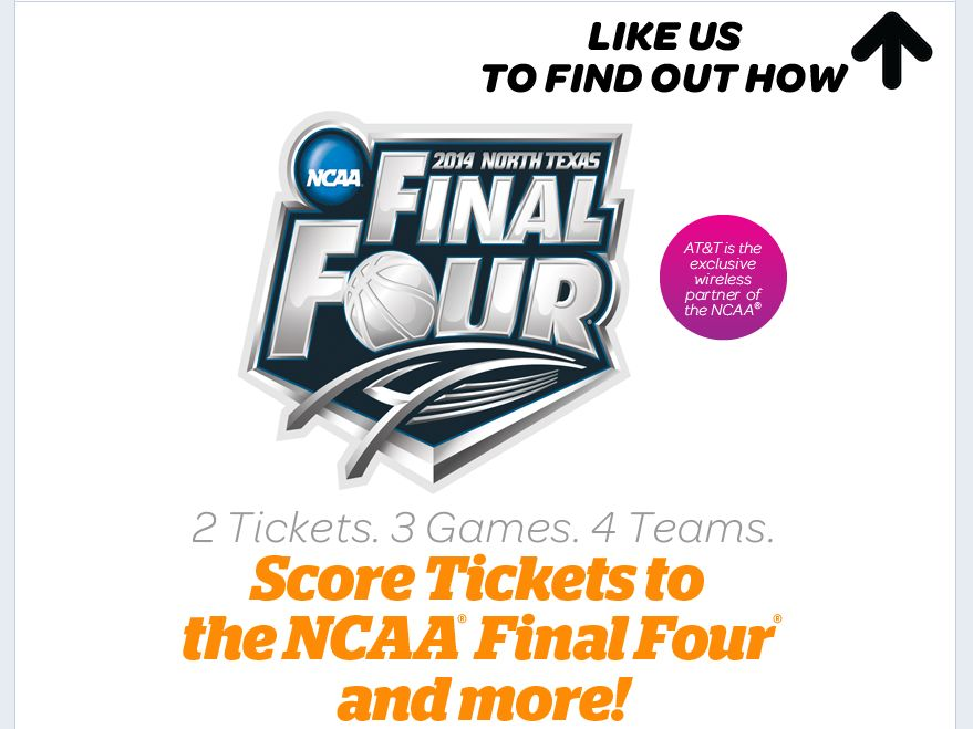 AT&T U-verse NCAA Men's Final Four Sweepstakes