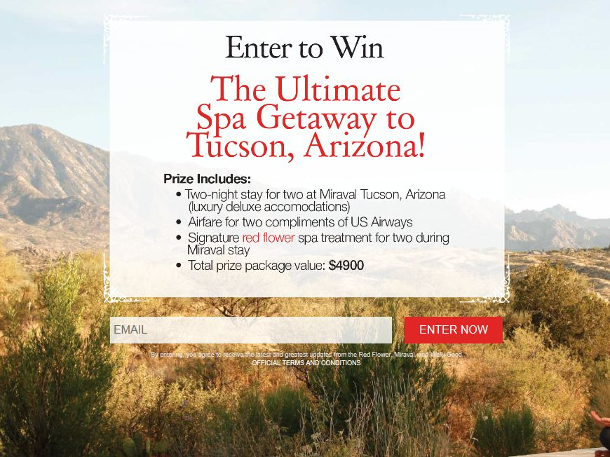 Well & Good Arizona Spa Sweepstakes