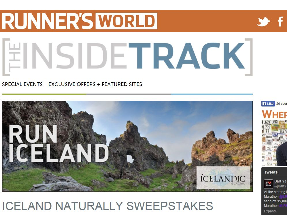 Iceland Naturally Sweepstakes