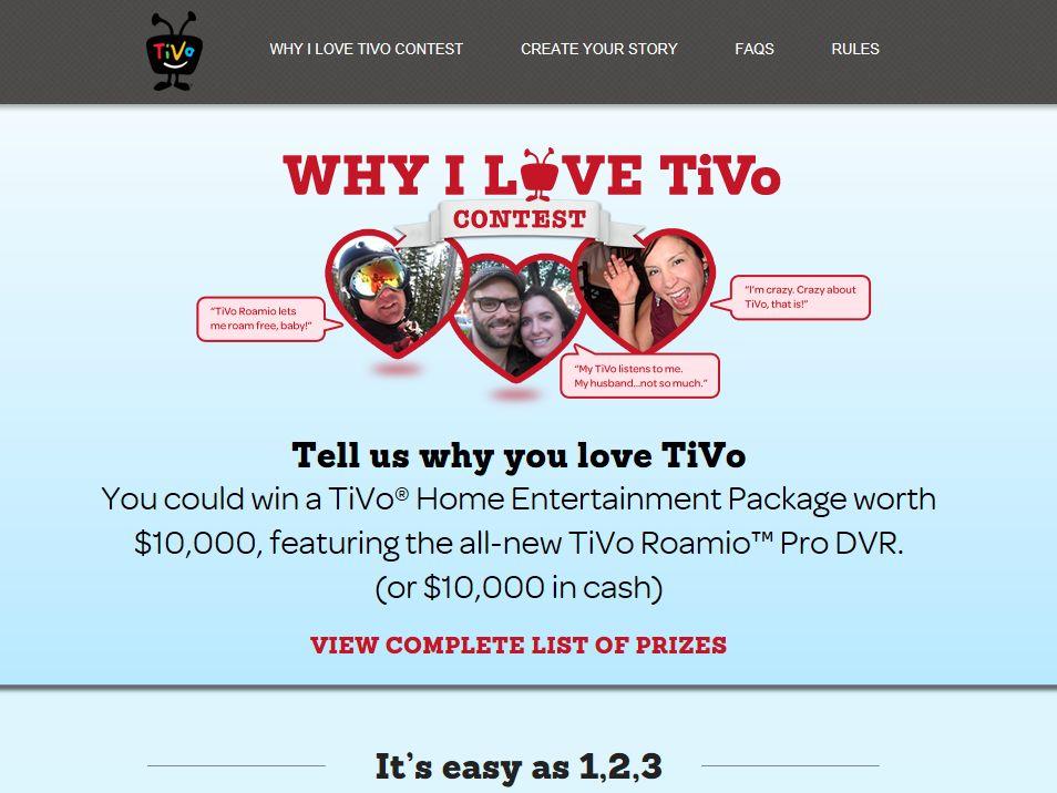 Why I Love TiVo Contest
