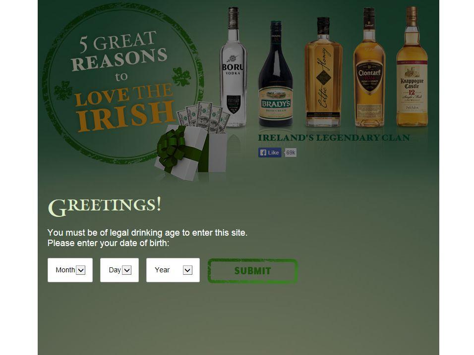 Irish to the Core Contest