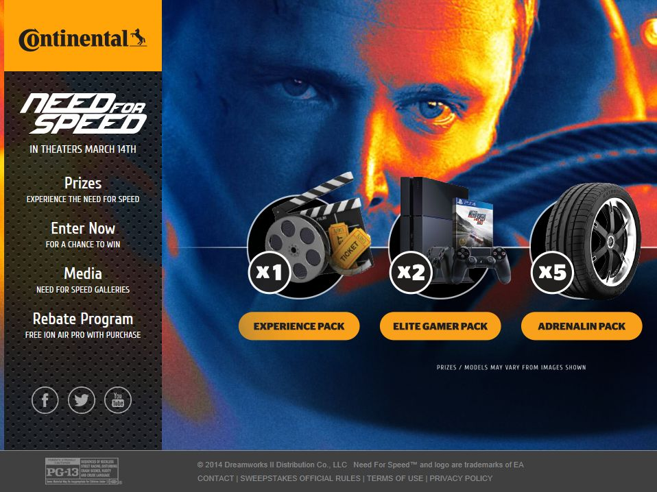 2014 Continental Tire Sweepstakes
