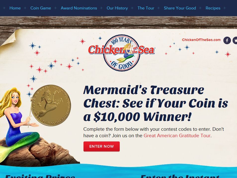 Mermaid's Treasure Contest
