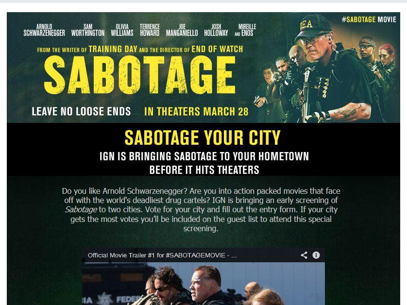 Sabotage Contest