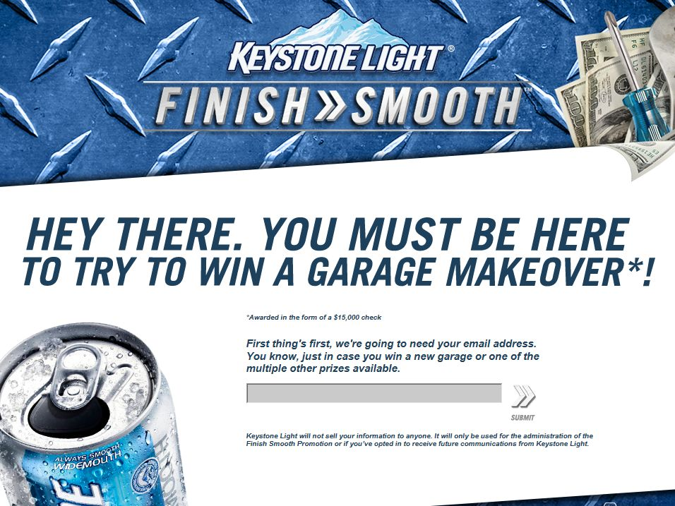 Keystone Light Finish Smooth 2014 Promotion – Code Required