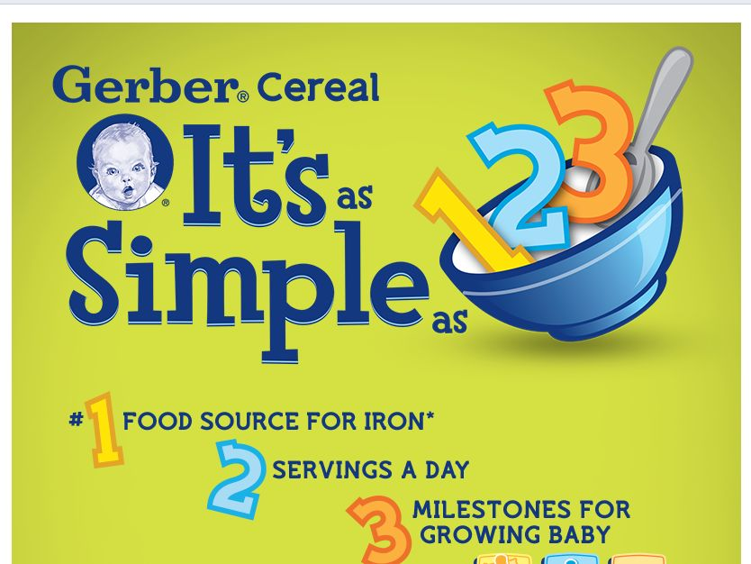 Gerber 1-2-3 Cereal Sweepstakes