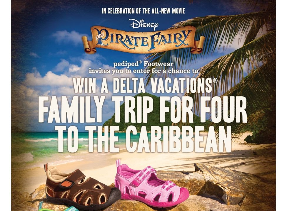 """PediPed The """"Pirate Fairy"""" Sweepstakes"""
