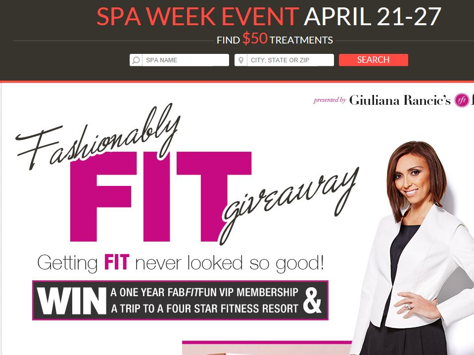 Interactive Wellness Group, LLC. Fashionably Fit Giveaway
