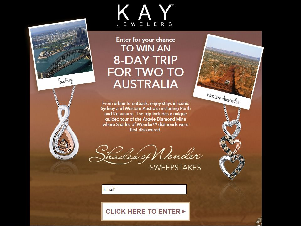 Kay Jewelers Shades of Wonder Sweepstakes