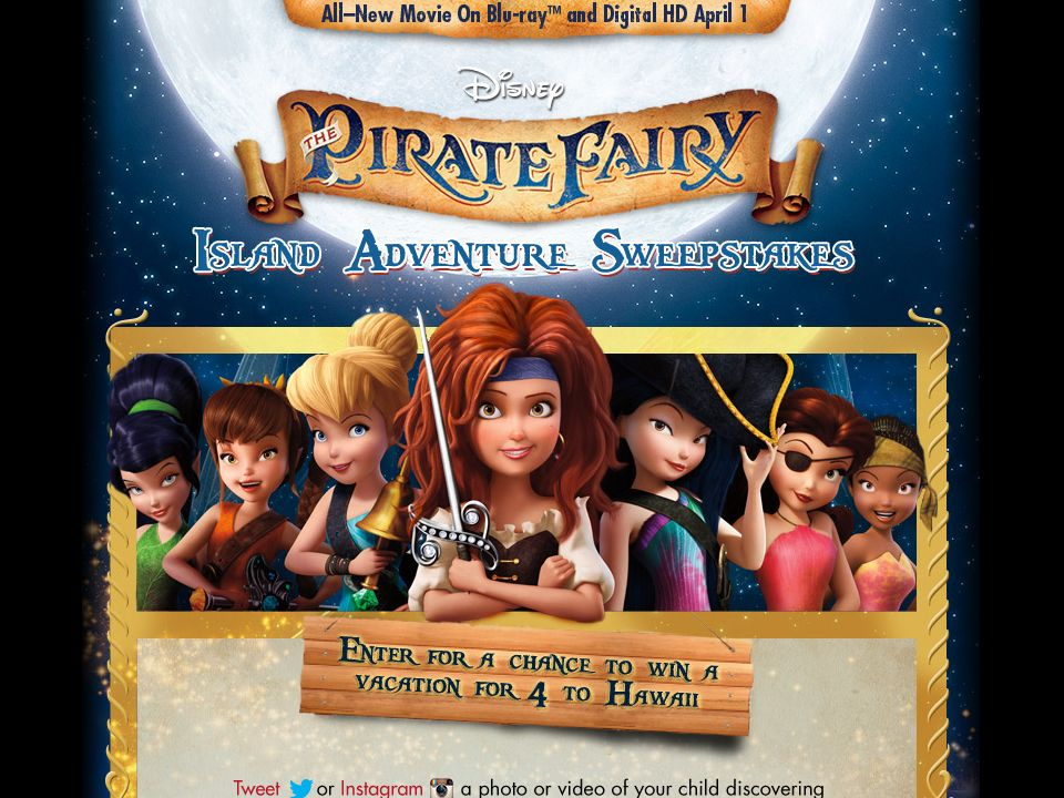 The Pirate Fairy Sweepstakes