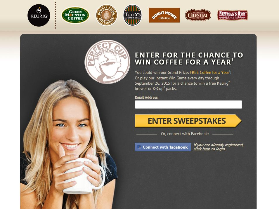 Green Mountain Coffee The Perfect Cup Sweepstakes