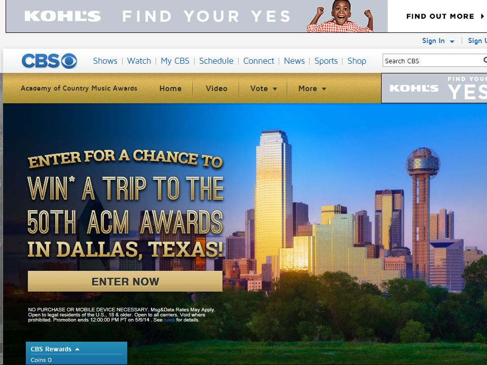 ACM's 50th Anniversary Sweepstakes