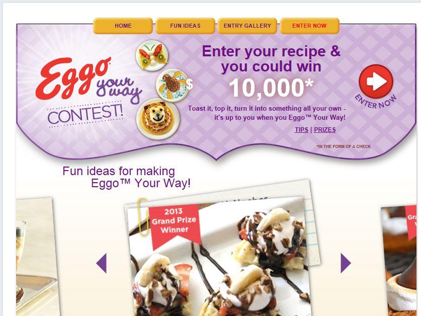 Eggo Your Way Contest
