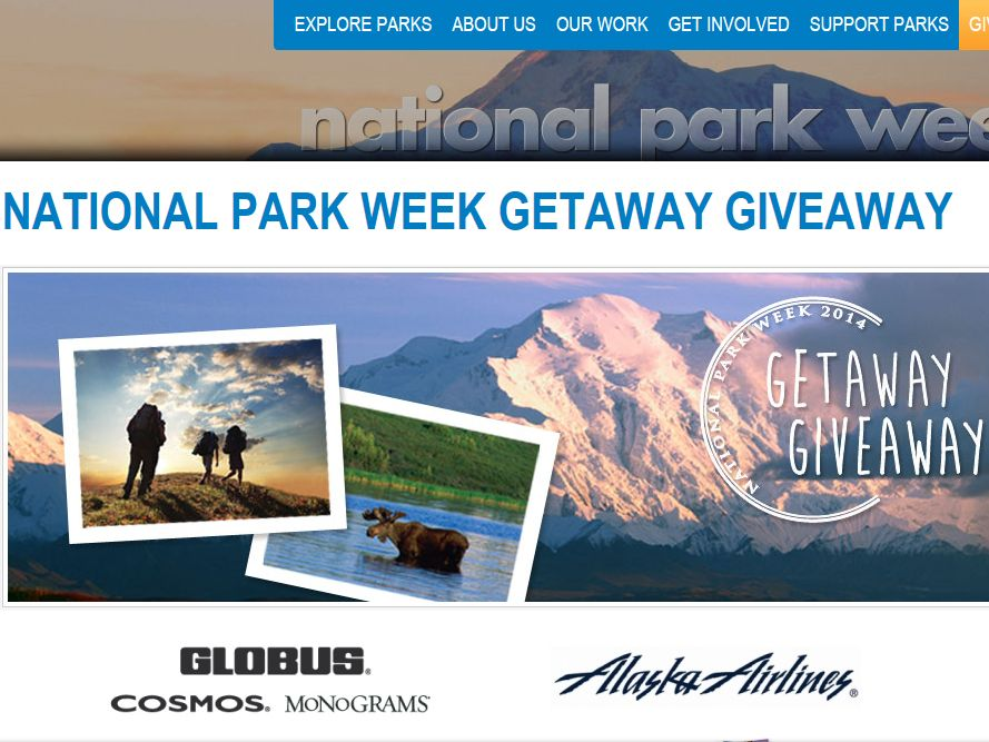 National Park Week Getaway Giveaway