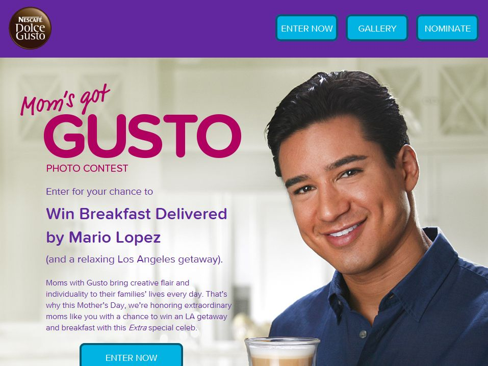 "Nescafe Dolce Gusto Mom's Got Gusto"" Photo Contest"