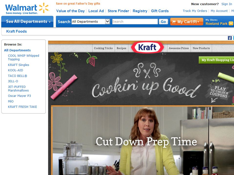 Kraft Cooking Up Good Sweepstakes
