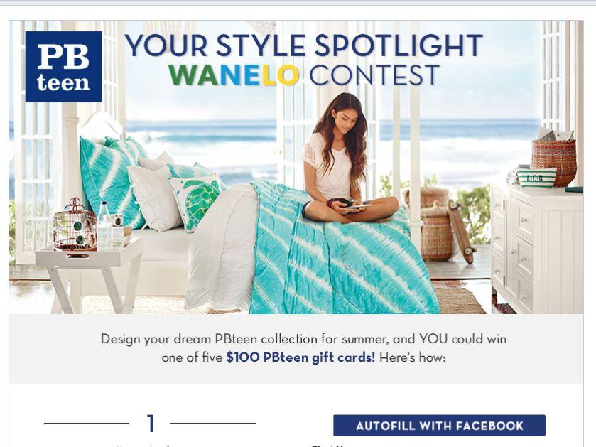 PBteen Your Style Spotlight Wanelo Contest