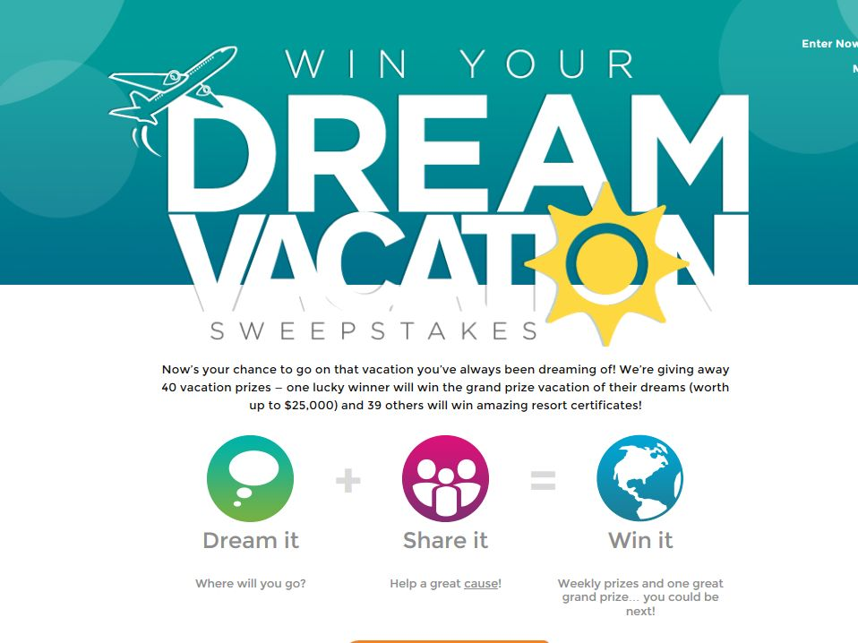Rci Win Your Dream Vacation Sweepstakes