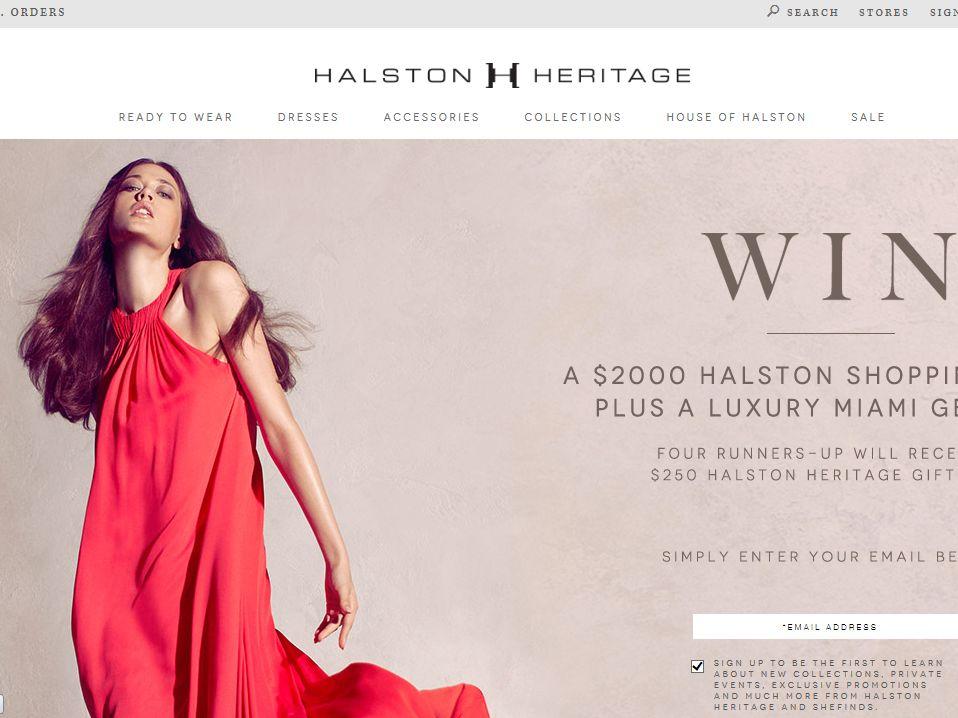 Halston Heritage Miami Vacation Getaway Sweepstakes